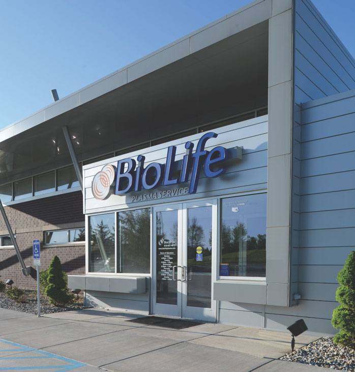BioLife Plasma Services Location